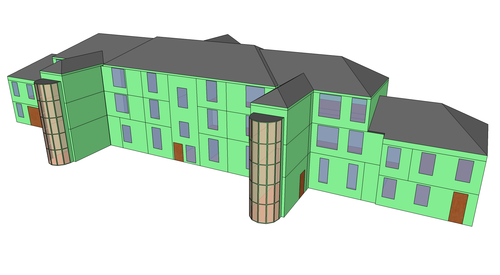 Google sketchup greenspacelive blog for Sketchup building