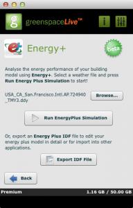 Energy+ in gModeller