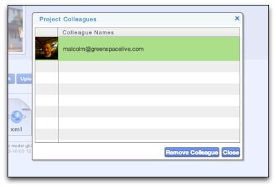 Manage Sharing in gWorkspace